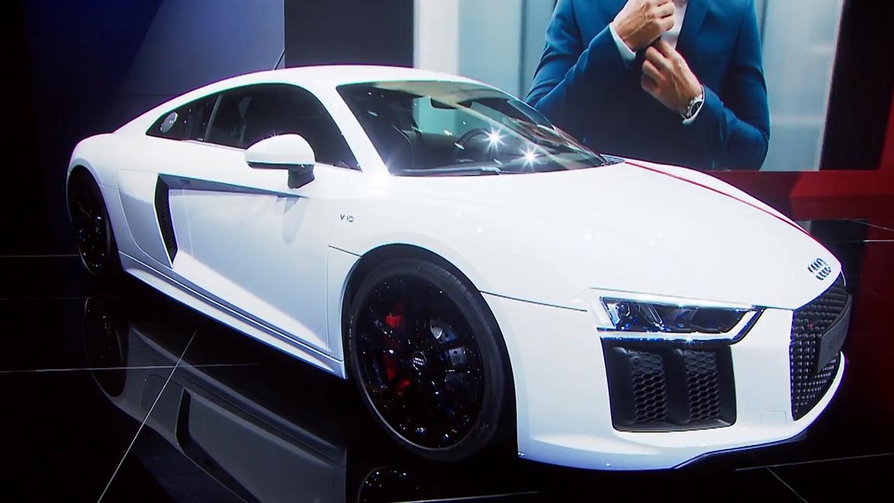 2017法兰克福车展 奥迪R8 V10 RWS首发