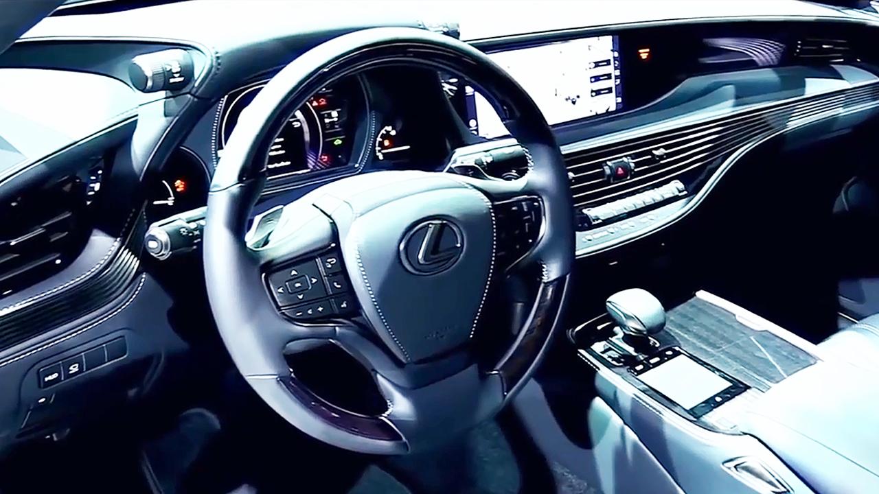 2018款雷克萨斯LS 500 内饰细节实拍