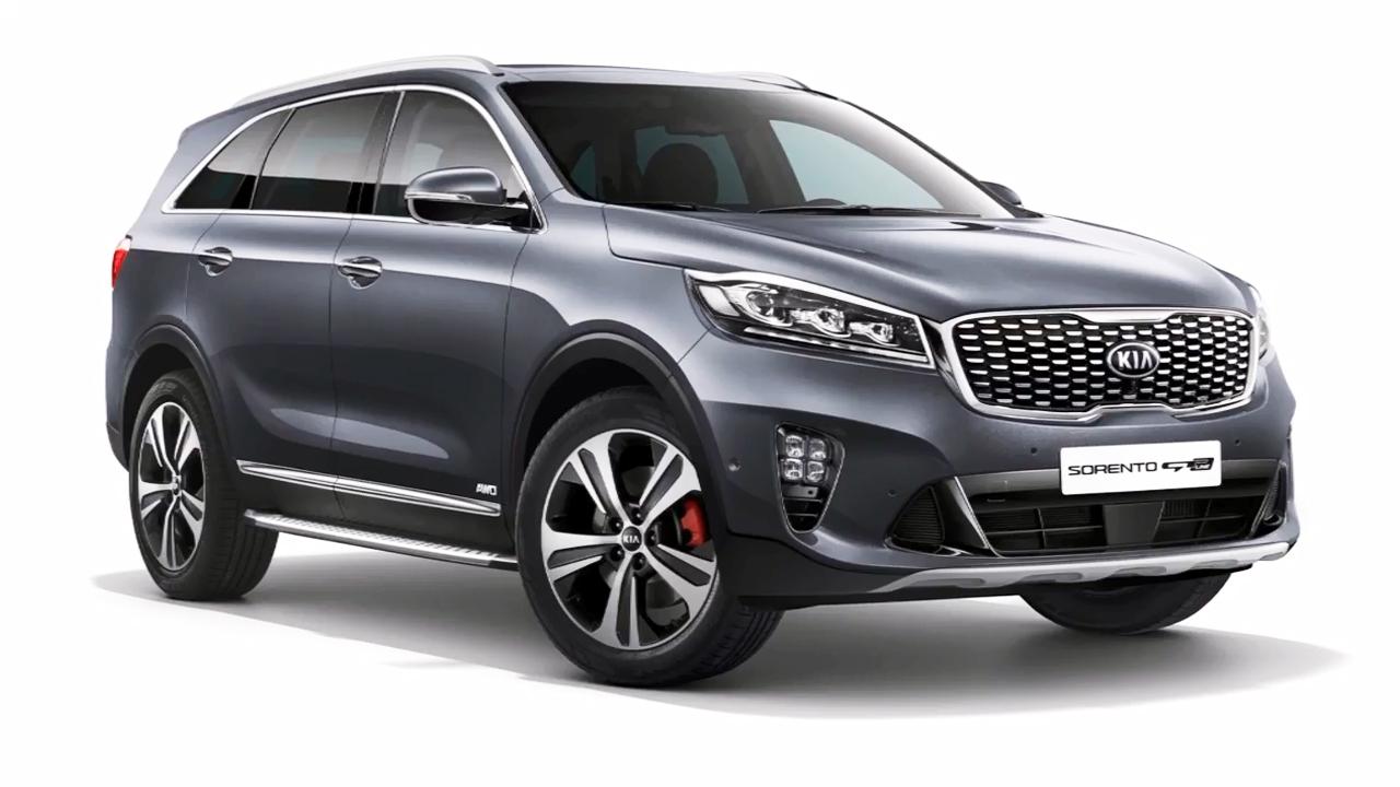 2018款起亚索兰托SUV 外观细节展示