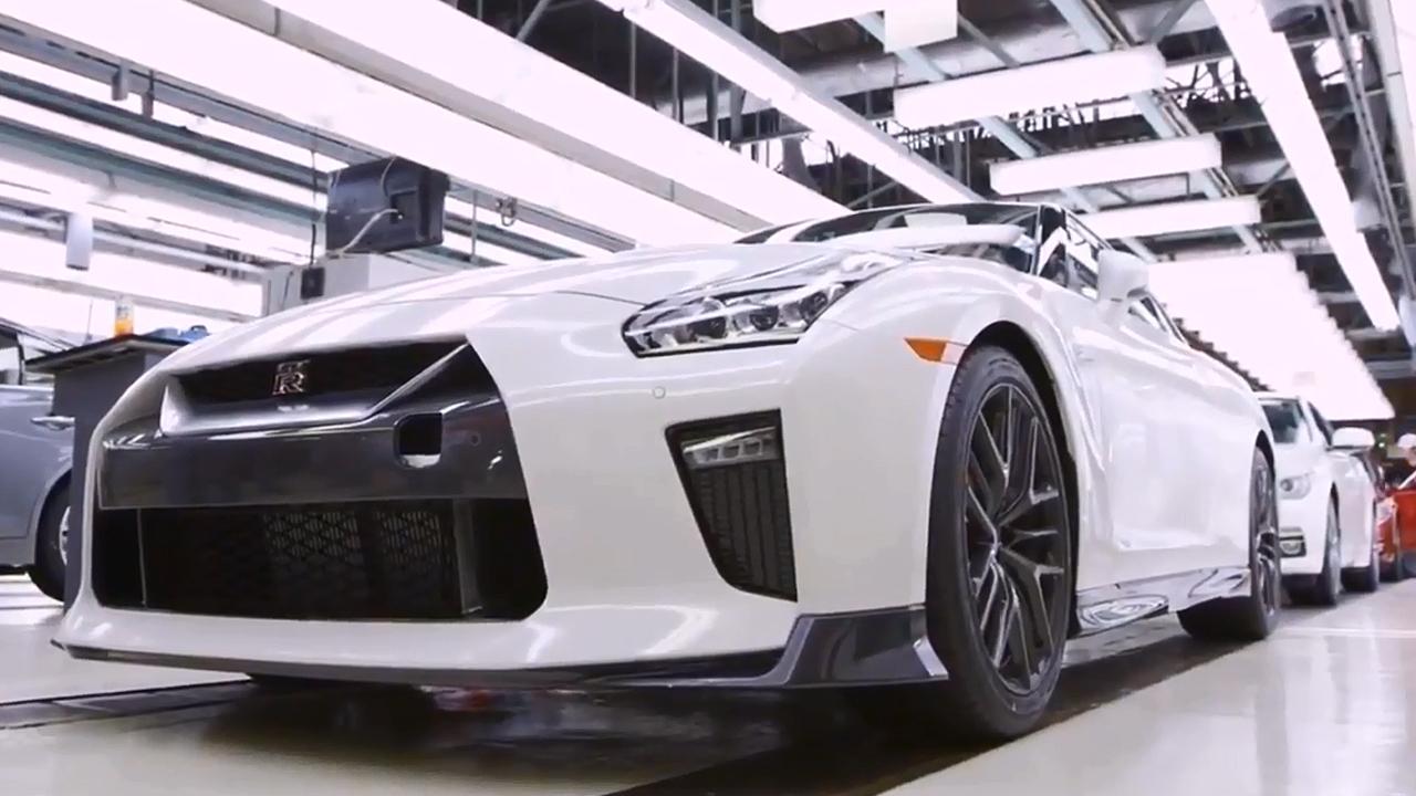 2017款日产GTR组装厂 生产过程揭秘
